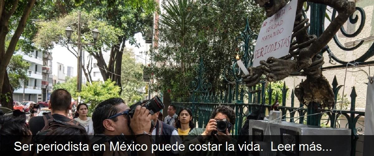 Nota periodistas México